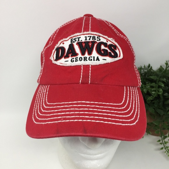 8ea5ddb2a0f Captivating Headgear Other - University of Georgia UGA Dawgs Hat Distressed